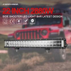 23 Inch LED Work Light Bar Combo Beam 5D Led Off-Road Driving Lights w Wiring
