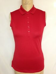 Callaway Essential Polo CGKS70D6 Tango Red  Small NWT $45 $24.99