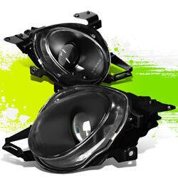 Factory Style Projector Headlight For Lexus Sc300 Sc400 92-00 Black Clear Pair