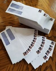 #9 Double Window Envelope privacy tint Peel & Seel 150 Forever Pre Stamped USA