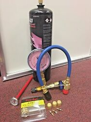 R410 R410a Refrigerant With Leak Sealer Recharge Kit 28 oz. AC Recharge