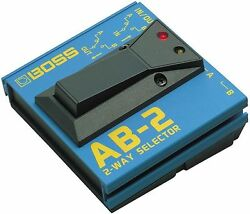Boss AB-2 2 Way Selector Electric Guitar Pedal Footswitch AB2 Foot Switch NEW