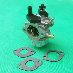 New Carburetor For Briggs 801396 801233 801255 Gas Snow Blower With Gaskets