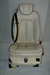 Maybach 57s 62 V240 W240 Front Right Seat Leather 555a White Beige Exclusive 402