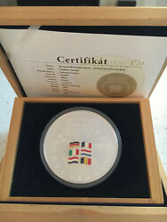 50th anniversary of the Treaty of Rome - very rare 500g silver coin