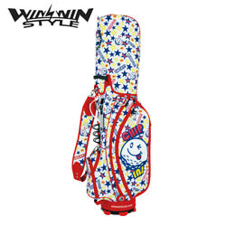 WINWIN STYLE GOLF JAPAN POP STYLE MIRACLE CHIP IN! LW CART BAG 2018 101811