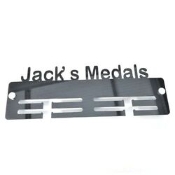 Your Name Medals Personalised Medal Hangers - Various Colours Available