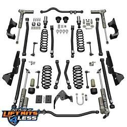 Teraflex 1324031 4'' Alpine CT4 Susp. Liftkit wFalcon 3.1 Shk for 07-18 Jeep JK
