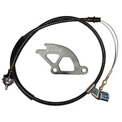 BBK PERFORMANCE 1505 HD ADJ CLUTCH CABLE & QUADRANT KIT for 1979-1995 MUSTANG