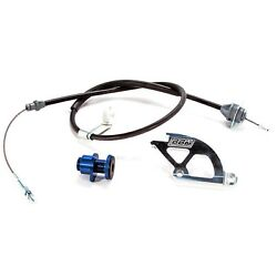 BBK PERFORMANCE 15055 HD ADJ CLUTCH CABLE QUAD & FW ADJUSTER for 1979-95 MUSTANG