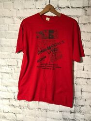 Vintage 1989 10000 Maniacs Blind Man's Zoo Worcester Poly Tech Concert T-shirt