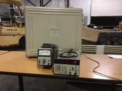 Hp 5343a Microwave Frequency Counter W/435a Power Meter W/8481a Power Sensor