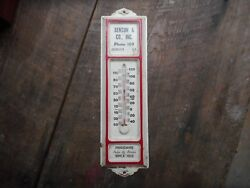 Andalusia Alabama Benson And Co Frigidaire Refrigerators Sales Service Thermometer