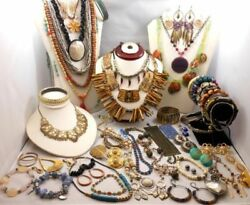 Wholesale 43 Pc Lot Lead And Nickel Free Fashion Jewelry Necklaces Earrings New