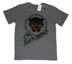 Marvel The Children's Place Black Panther Sequin Logo Boys Kids Tee shirt