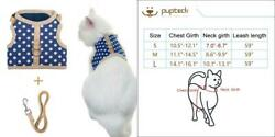Escape Proof Cat Harness with Leash - Adjustable Soft Mesh - Best for...