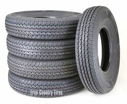 5 Free Country Radial Trailer Tire St225/90r16 /7.50r16 14pr Lr G Steel Belted