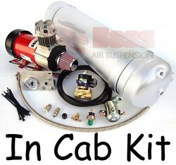 BOSS PX07 In Cab Kit for Air Bag Suspension - Compressor Gauge Tank Switches New