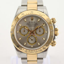 Rolex Daytona 116523 in Steel & Gold. Box & Papers