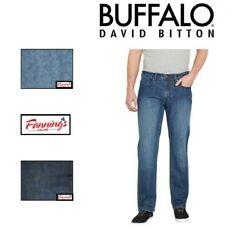NEW Buffalo David Bitton Jackson-X Denim Straight Stretch Mens Jeans VARIETY E11