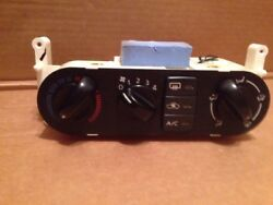 2000-2006 Nissan Sentra Manual Climate AC Heater Control