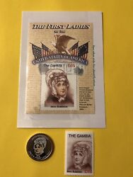Stamp Coin Colored First Ladies Anna Harrison Free Shipping