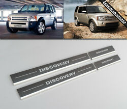 Land Rover Discovery 3 And 4 Kick Plates Sill Protector Guards