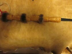 Whip Or Quirt. Indian Quirt Or Horse Whip. Wooden Whip Beaded Whip.