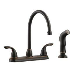Ashland High Arch Kitchen Faucet In Oil Rubbed Bronze