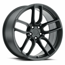 Replica By Voxx Widebody Hellcat 20x9 5x115 Offset 20 Matte Black Qty Of 4