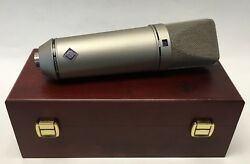 Neumann U 87 Ai Condenser Microphone in Original Box MINT