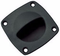 2 Pack Flush Pull Boat Hatch Compartment Catch Black Fastship 54207 G