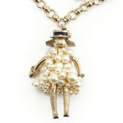 14s Pearl Dress Doll Necklace