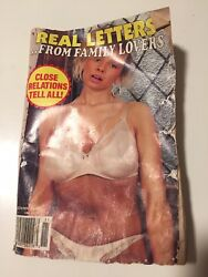 Real Letters From Family Lovers Old Book 1991