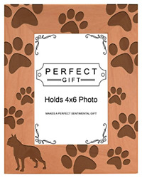 Gifts For All By Rachel Olevia Dog Lover Gift Boston Terrier Paw Prints Natural