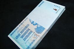 11x Zimbabwe 100 Trillion Dollars | Uncirculated | 2008 Aa | Over 50 In Stock