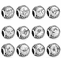 Genuine Authentic Pandora Sterling Silver Charm ZODIAC HOROSCOPE STAR Sign S925