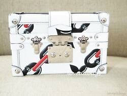 RARE! LOUIS VUITTON CHAIN FLOWER  PETITE MALLE BAG CLUTCH BNIB LTD EDITION
