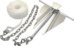 Boat Marine 7 Slip Ring Anchor Kit For Boats 16' To 19' 50997