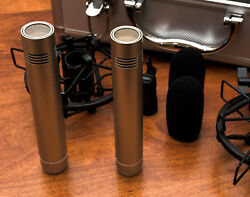 MXL603s condenser mic stereo matched pair w all accessories