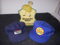 Butternut Holsum Bread Truckers' Ball Caps 2 And A Sign Included