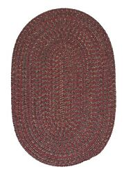 Hayward Berry Pink Braided Area Rug/runner By Colonial Mills. Many Sizes. Hy79