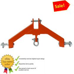 3 Pt Hitch Category 2 Attachment Heavyd Tractor Log Skidder Made Usa