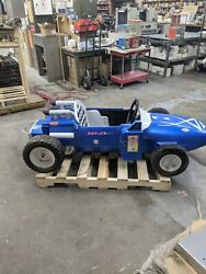 Antique Coin Operated Vintage Racing Car Formula One Grand Prix Kiddie Ride