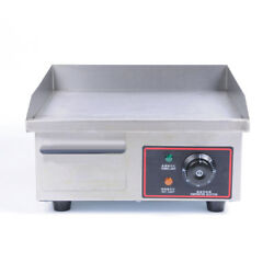 Vic 110v-220v Electric Griddle Tabletop Bbq Cooking Machine Temperature Control