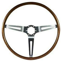 Woodgrain Steering Wheel 1967-68 All Chevy Cars [walnut] Also 68 Olds Gm A-body