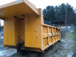 dump truck body With Lift Gate and Sub Floor Heat 16' Long