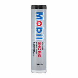 Mobil Mobilith Shc 100 Lithium Complex Synthetic Premium Grease 380g Cartridge
