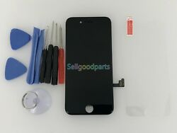 Original OEM iPhone 7 Black LCD Replacement Screen Digitizer Assembly quot;Grade Aquot;