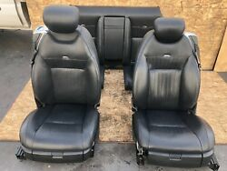 MERCEDES W216 CL65 CL600 DESIGNO FRONT REAR LEATHER SEAT SEATS CUSHION SET OEM